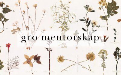Mentorprogram – Gro